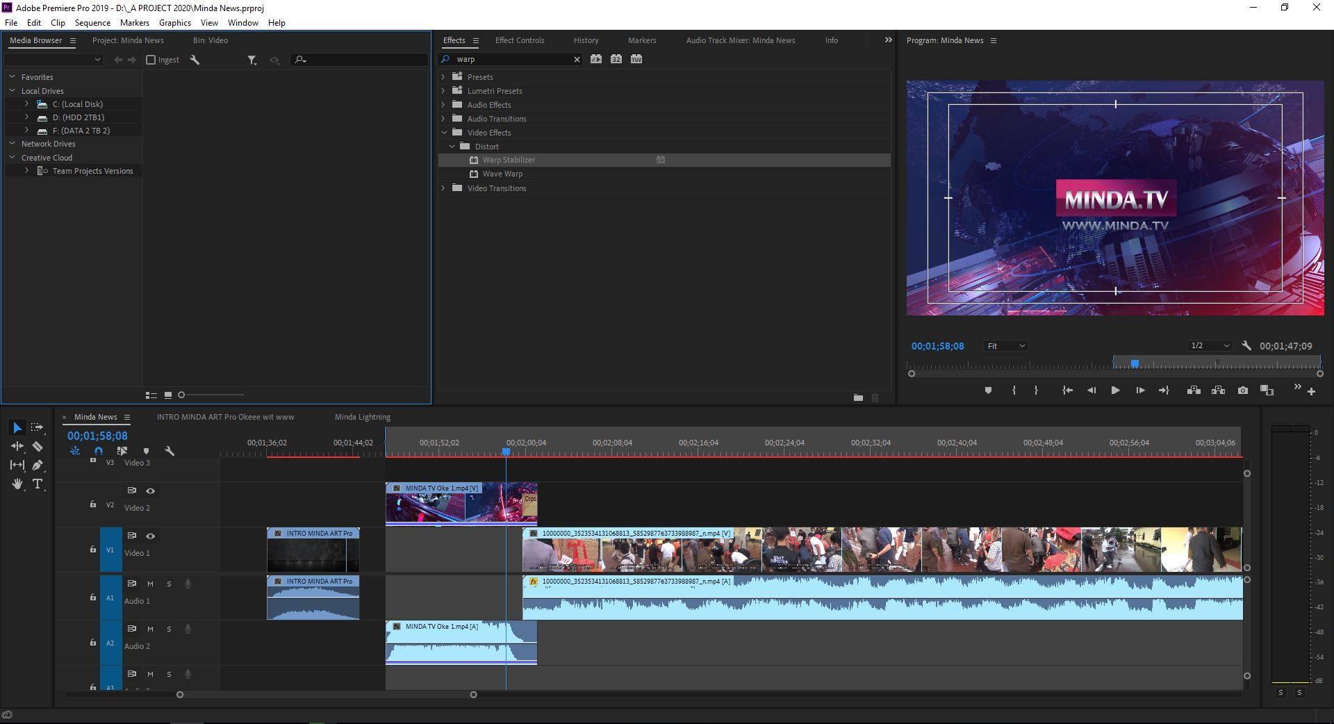 Cara Menstabilkan Video di Adobe Premiere Pro