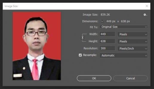 Ukuran Pas Foto 4x6 dalam Pixel dan cm