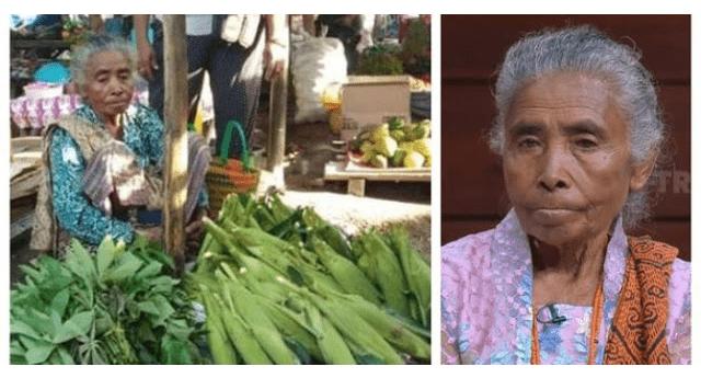 Punya Anak Jadi Bupati 2 Periode, Ibu Ini Tolak Kemewahan, Pilih di Kampung Jual Sayur