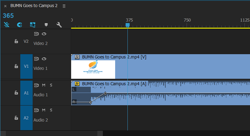 Editing Audio in Premiere Pro - Fade Audio Effects
