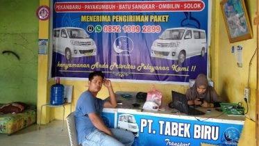 Travel Pekanbaru Batusangkar Solok TABEK BIRU