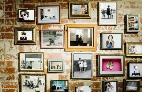 Cara Menata Foto Polaroid di Kamar 15