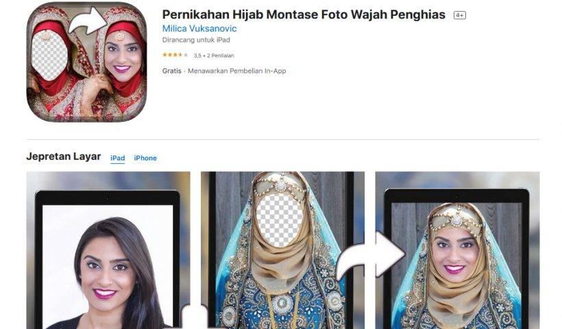 Aplikasi Edit Foto Jadi Pengantin di iPhone (1)