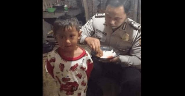 Enggan Beri Makan Dari Uang Haram, Polisi Ini Rela Makan Tahu Tempe dan Tinggal Di Gubuk Sederhana.png
