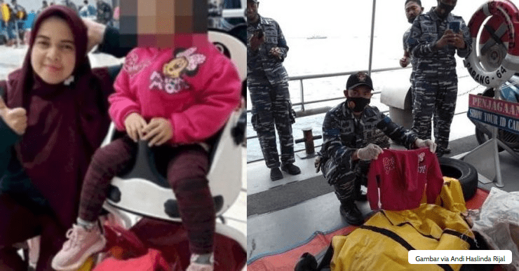 Haru Tim SAR Menemukan Jaket Anak Penumpang Sriwijaya 01