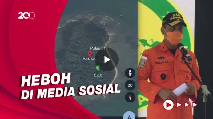 Viral Tanda SOS di Pulau Laki Kepulauan Seribu, Camat Sedang