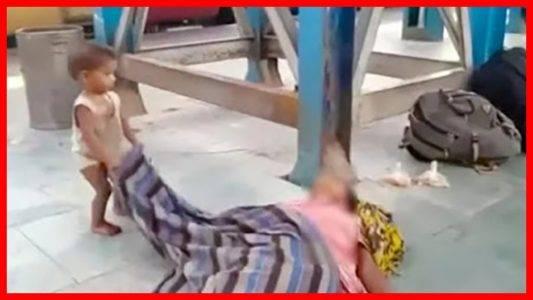 Viral Balita yang Bangunkan Ibunya yang Sudah Meninggal