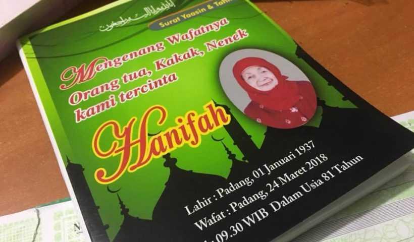 Cetak Buku Yasin Padang