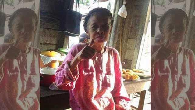 Waw Siapa Sangka Nenek Penjual Gorengan ini Dulunya Ternyata Bintang Iklan TV