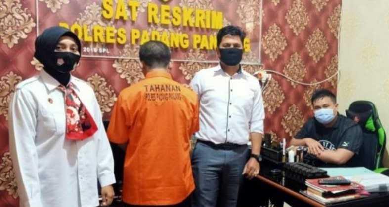 Diduga Cabuli Murid Sendiri Oknum Guru SMP di Padang Panjang Ditangkap Polisi