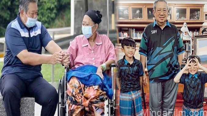 2 Tahun Hidup Tanpa Ani Yudhoyono, Penampilan Terbaru SBY yang Makin Kurus Jadi Sorotan! Warganet : Pak SBY Ga Boleh Sakit