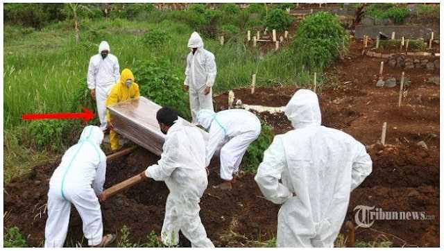 HEBOH Peti Mati Dikuburkan Ternyata Kosong Faktanya Jenazah Masih di RS Makam Langsung Dibongkar