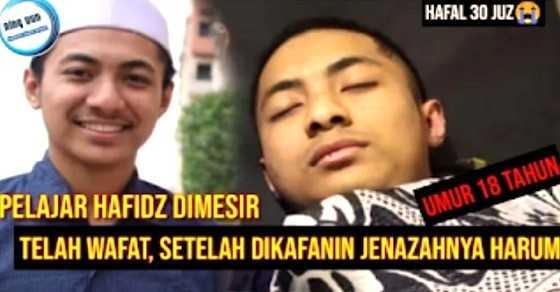 Kuasa Allah itu Nyata, Hafidz Quran yang Meninggal Seperti Tidur dan Saat Dikafani Jenazahnya Harum