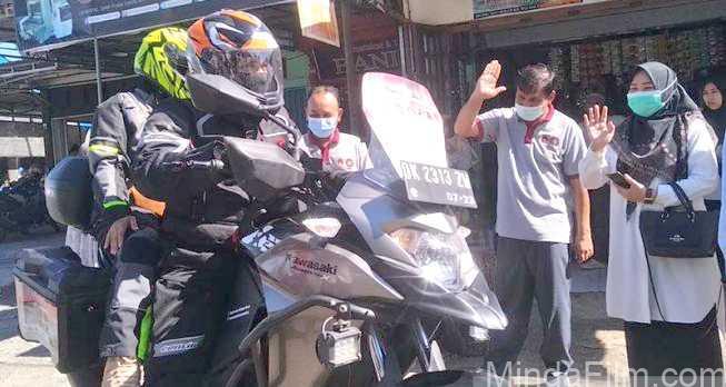 Touring dari Bali Menuju Banda Aceh Kini Pasutri ini Keliling Indonesia