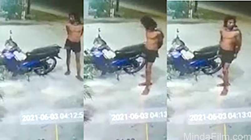Viral Video CCTV Pencurian Motor Modus Baru, Pelaku Diduga Nyamar Jadi ODGJ