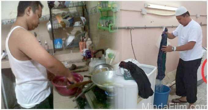 Rumah Tangga Akan Indah Bila Suami Ikut Membantu Pekerjaan Rumah Sang Istri