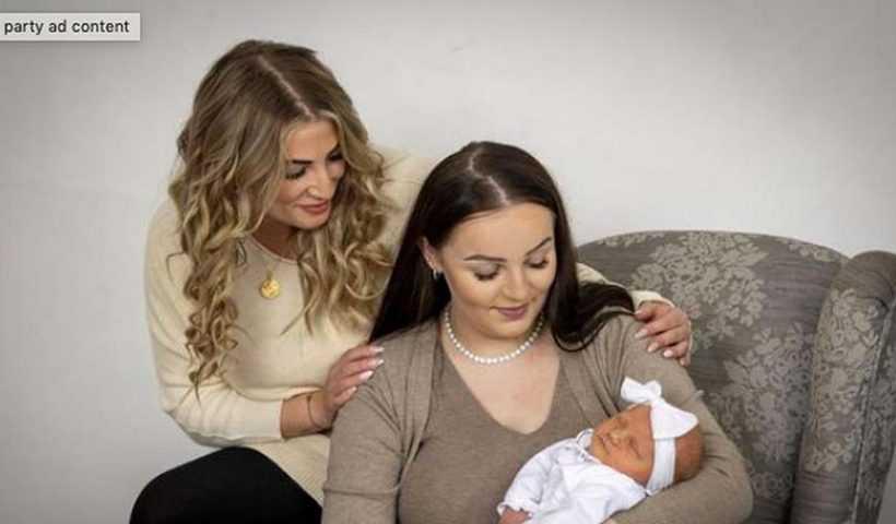 Baru Berusia 33 Tahun, Wanita Ini Jadi Nenek Termuda di Inggris